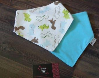 Burp bib Bandana baby scarf bib
