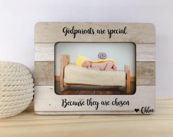 Godmother Frame Godparents Frame Godmother Gift Goddaughter Godson Frame Godparents Thank You Gift Baptism Dedication Christening Gift