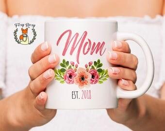 New Mom Mug | Mom Gift | New Mom Gift | Mom Mug | Coffee Mug | Baby Shower Gift | Gift For Mom | Mothers Day Gift | Mommy | CM-117