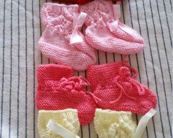 baby clothes, baby booties