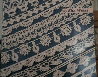 101 Crochet Edgings Book/Vintage/American School of Needlework 1212