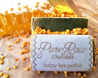 Pure Raw Chocolate - Buzzy Bee Pollen (pack of 10)