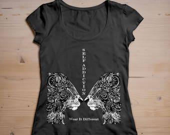 Self Addiction Lion Designer T-shirt