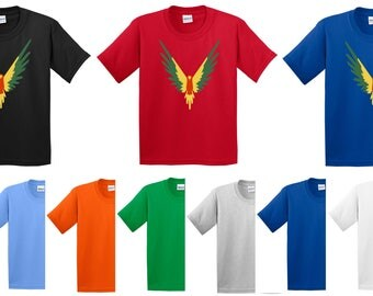 Logan Jack Paul T Shirt Maverick Parrott Youtubers Youtube Game Christmas Xmas Gift Youth Kids Children Unisex Tee Top