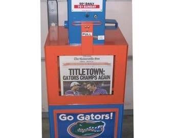 Florida Gators Newspaper Box Little Library
