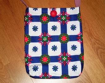 Shoulder Bag ~ 70s fabric