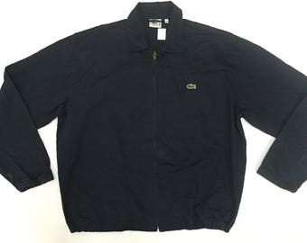 40% sale!!Vtg Harrington Lacoste fully  zipper Jacket Size 5 Supreme Nike Adidas Kappa Fred Perry