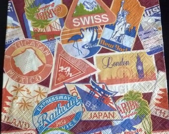 Paper towel around the world