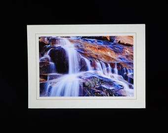 Water Fall in Rocky Mountain National Park, Note Card