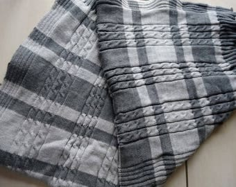 Plaid wool, wool blanket, blanket made wool blanket, weighted blanket, plaid, blanket