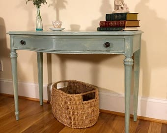 Vanity/Desk | Vintage French Provincial, French country, shabby chic, Anne Sloan, painted, Greenville SC