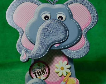 Elephant Handmade Card