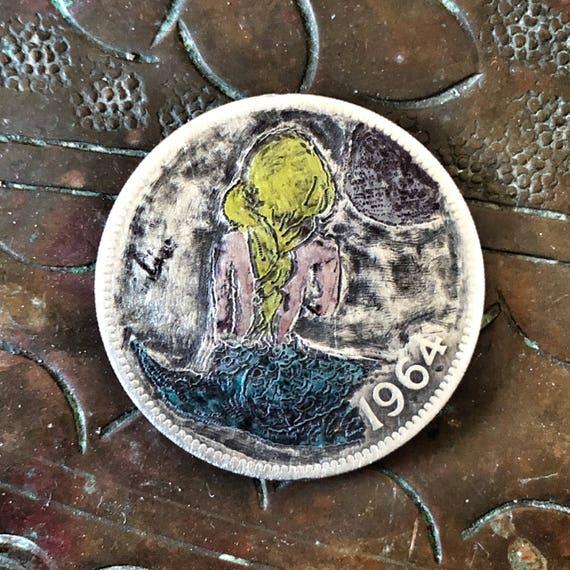 Hobo Nickel Mermaid #1 by olmo