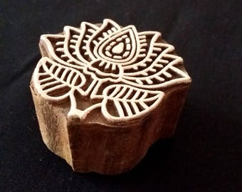 Seal of wood, Flor de Loto