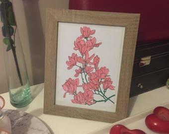 Deocratif - coloring frame handmade