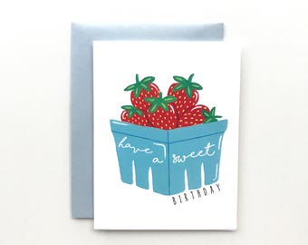 Have A Sweet Birthday - Birthday Card