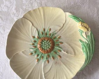 Vintage Carlton Ware Yellow Buttercup Plate 1930s Made in England