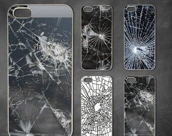 Crack, cracked glass iphone 7 case, iphone 7 plus case, iphone 6/6s , iphone 6s  case, iphone 6 plus case, iphone 5/5s case, 5c case, 4/4s