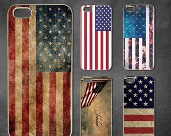 American flag iphone 7 case, iphone 7 plus case, iphone 6/6s , iphone 8 case, iphone 6 plus case, iphone x, 5/5s case, 5c case, 4/4s case