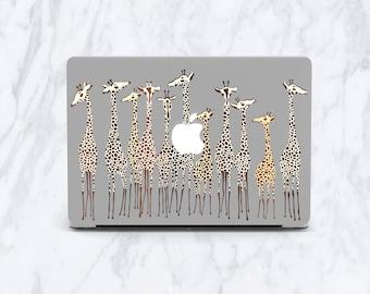 Giraffe MacBook Pro 13 case funny case MacBook Air 13 rabbit case MacBook Retina MacBook case MacBook Pro case cute MacBook 13 case