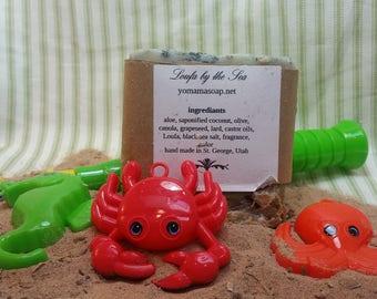 Scrubby soap, Loufa by the sea