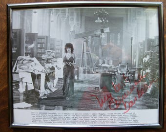 "Adrienne Barbeau   8""x 10"" photo, signed, framed   (#EV114)"