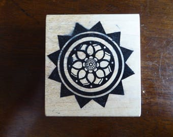 Sunburst Mandala Stamp by Magenta of Canada (Retired)