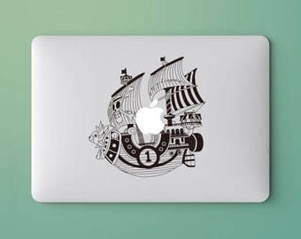 The ship laptop sticker for macbook pro skin macbook sticker macbook air sticker macbook front decal