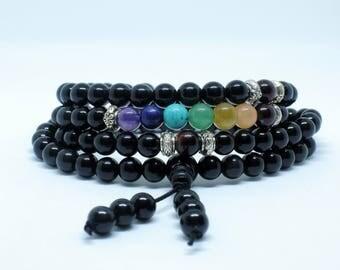 Mala 108 Seven Chakra Beads