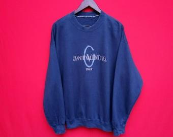 vintage Gianni valentino italy sweatshirt large mens