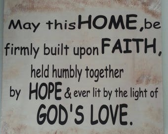 Home blessing in English 041