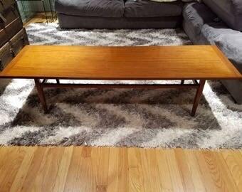 5' Mid Century Modern coffee table
