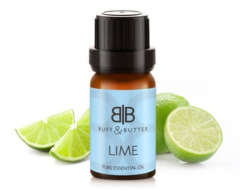 Lime Essential Oil 100% Pure Natural Fragrance Aromatherapy - 10ml, 30ml, 50ml, 100ml Bottle