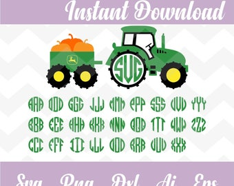 Tractor svg,alphabet  letters,monogram,font,farmer svg,cricut,silhouette,cutting,invitation,birthday,kinder  svg,kids,school,svg,PNG,dxf,eps