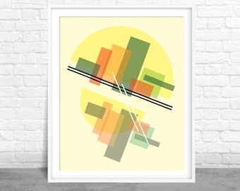 Abstract Art, Geometric Design, Shapes Art
