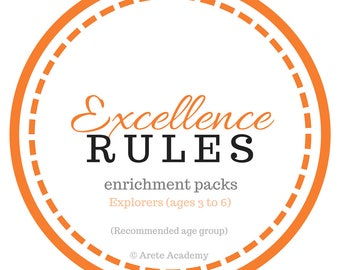 Excellence Rules Explorers enrichment pack (monthly subscription box)