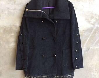 Vintage Number (N)ine Wool Women Jacket Size 1 Made In Japan