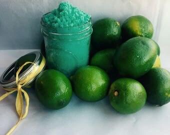 Vegan Margarita Salt Scrub with Essential Oils