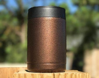 Copper Vein Powder Coated Yeti/Insulated Tumbler/Powder Coat/Copper Yeti/Birthday Gift/Glitter Yeti/Custom Yeti/Yeti Cup/Yeti Tumbler