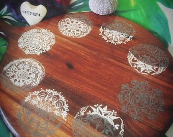 Sacred altar moon mandala board