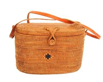 Crossbody Ata Bali Bag Handwoven