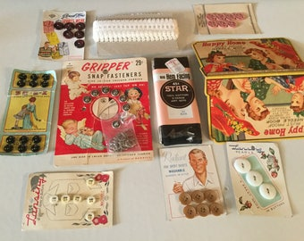 Vintage Sewing Grouping