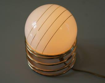 1970's REGENCY HOLLYWOOD lamp / lampe de table