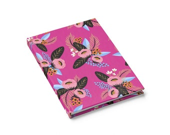 Rebecca Floral Print Journal