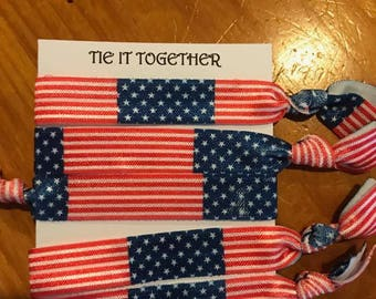 Patriotic Hair Ties