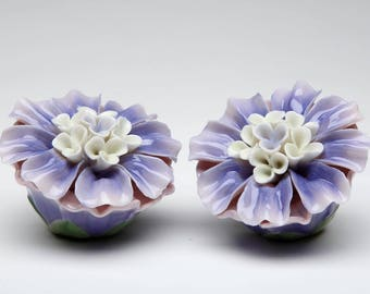 Dahlia Salt and Pepper Shaker Set
