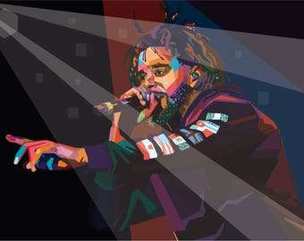 J Cole Poster 24x36