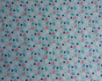 Fabric Freedom Woodland floral 100% cotton fabric 44 inch / 110cm