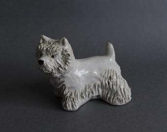 JIE Gantofta Sweden Figurine of Dog 1950's