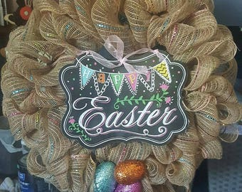 Easter Wreath*EXAMPLE*